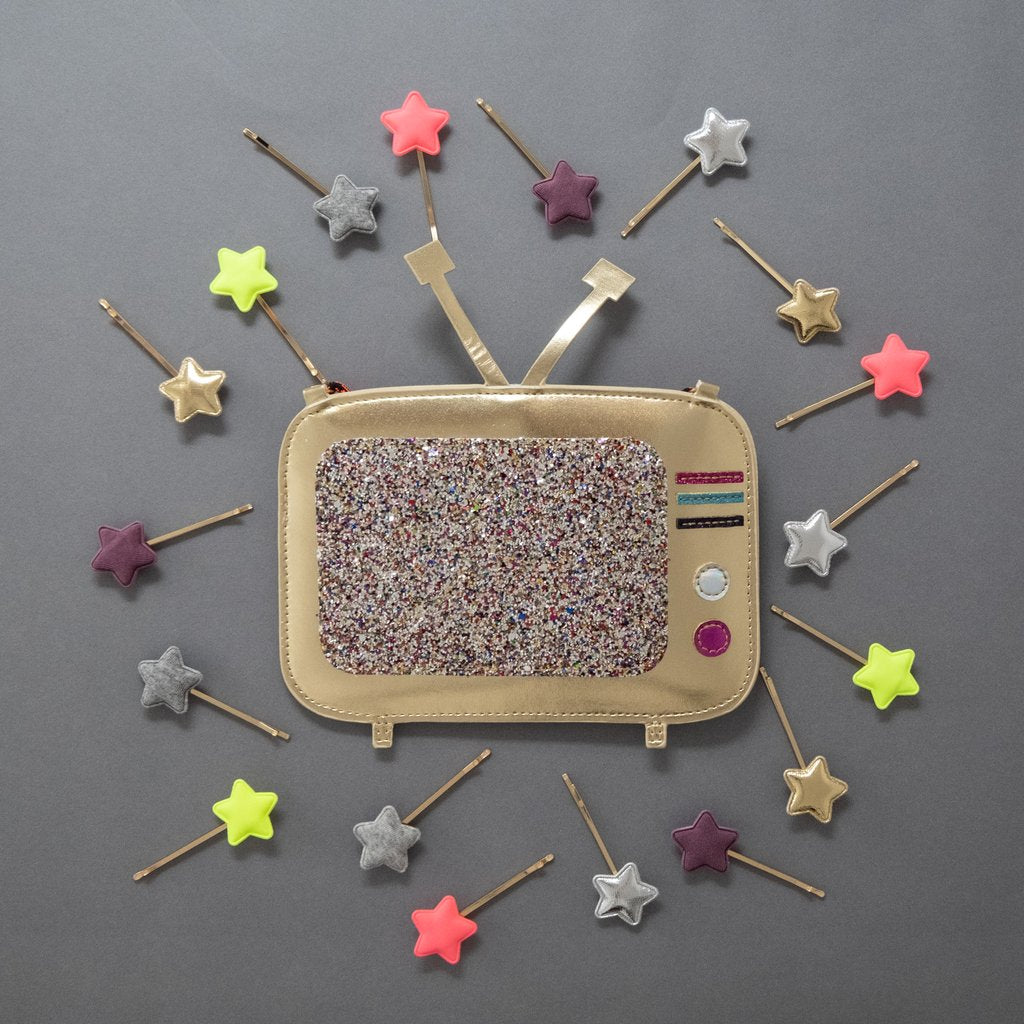 Mimi & Lula Glitter Tv Bag