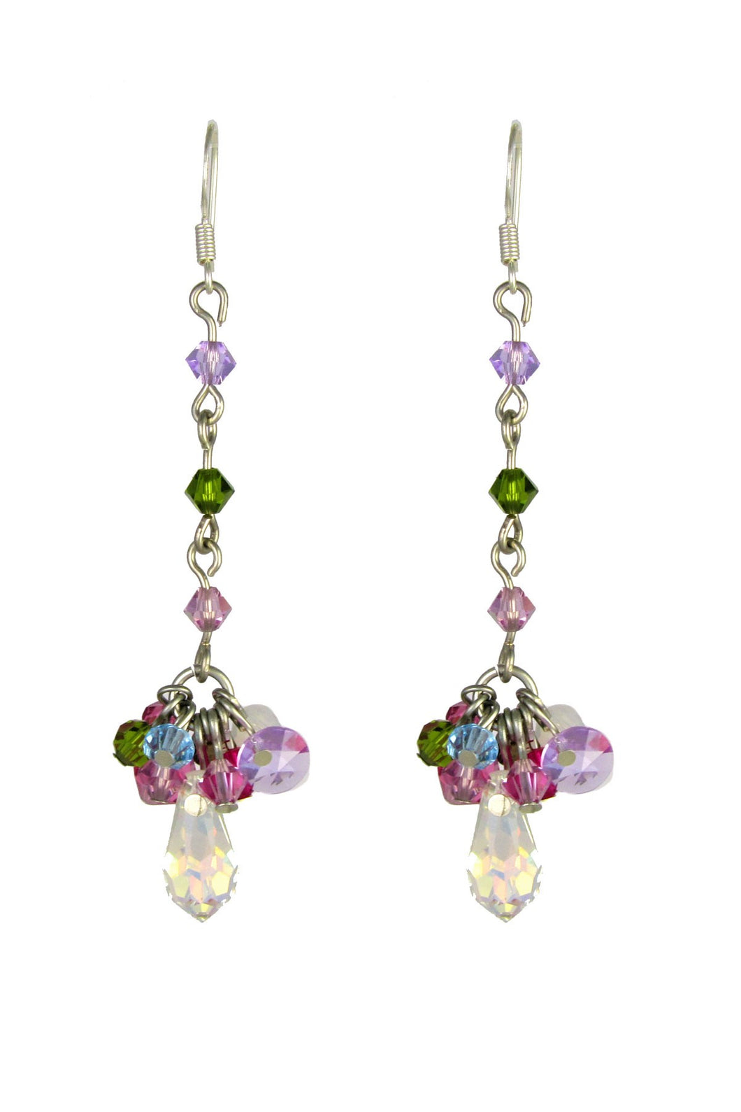 SALE - Ana Swarovski Crystals Earrings