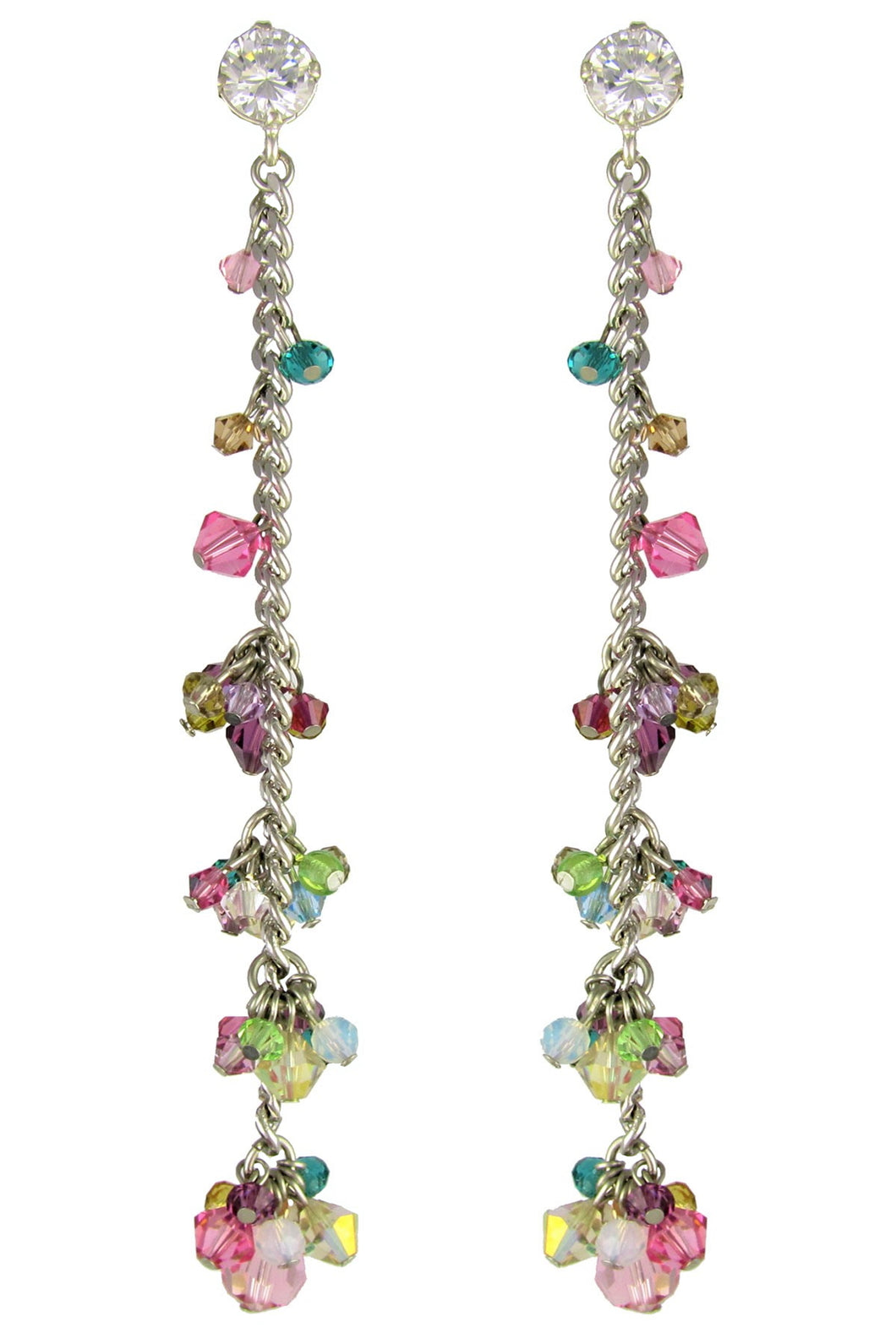 SALE - Anita Swarovski Crystals Earrings