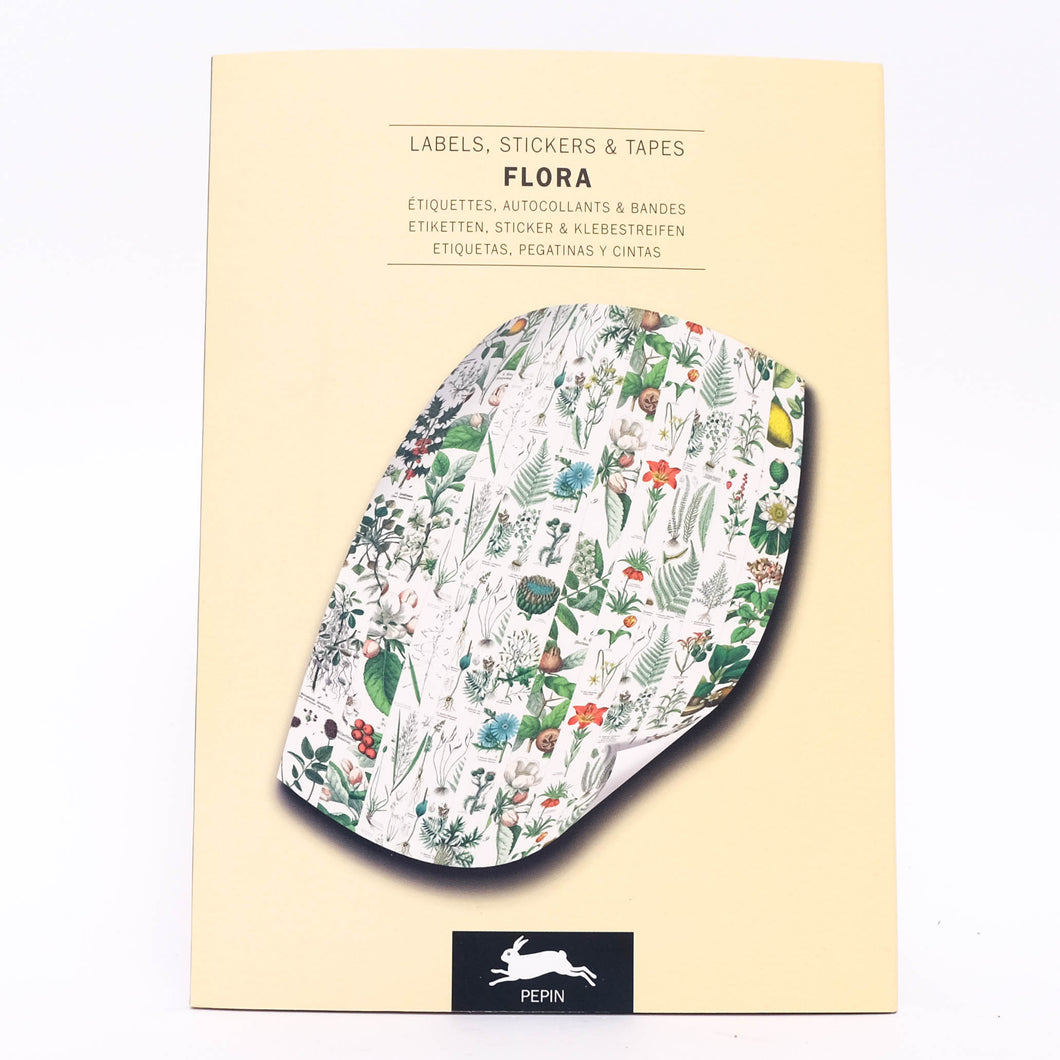 Stickerboek Flora