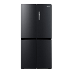 Midea  545L Cross Door Fridge Freezer Black Stainless Steel JHCDSBS545BK - Midea | Home Appliances New Zealand