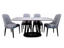 Sekla Marble Dining Table