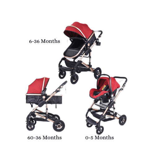 Ultimate 3-in-1 Stroller and Car Seat System- sizing