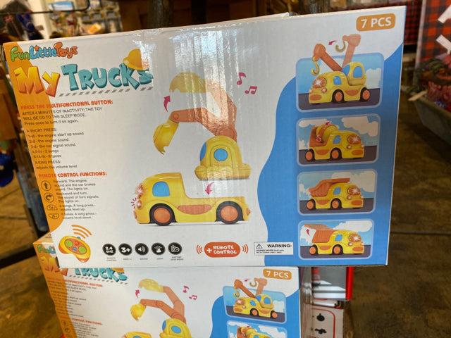 Toy Truck Remote Control Light & Music