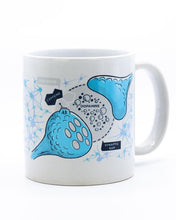 Load image into Gallery viewer, Caffeine Affects Brain Heat Change Mug