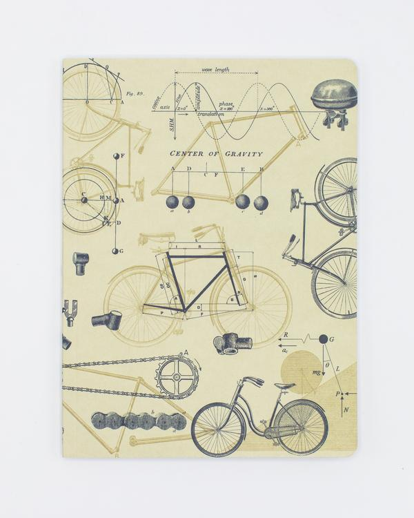 Bicycle Science Hardcover Notebook