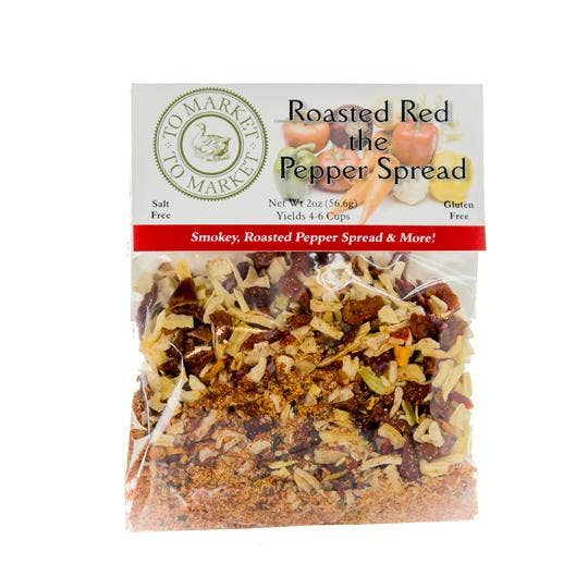 Roasted Red the Pepper Spread Gourmet Fresh Herb Dip Mix