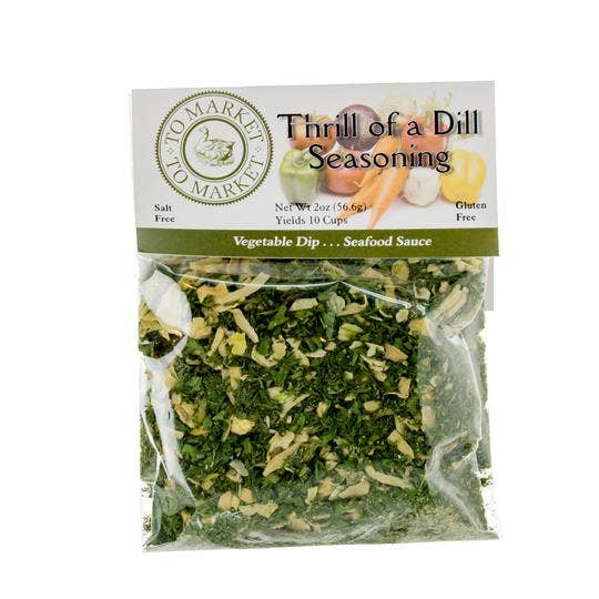 Thrill of a Dill Seasoning Gourmet Fresh Herb Dip Mix