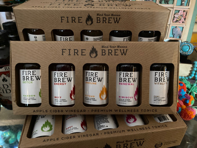 Fire Brew Sampler Set Apple Cider Vinegar Tonic