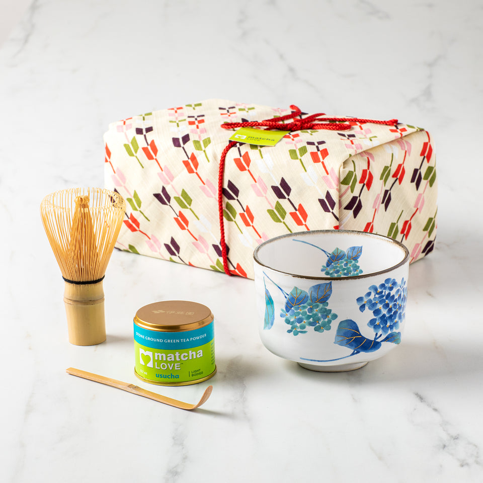 Mainichi with Furoshiki Gift Set