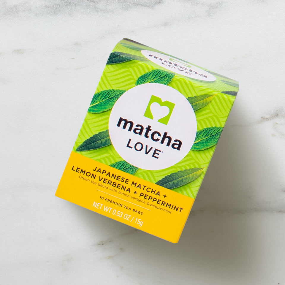 Japanese Matcha + Lemon Verbena + Peppermint