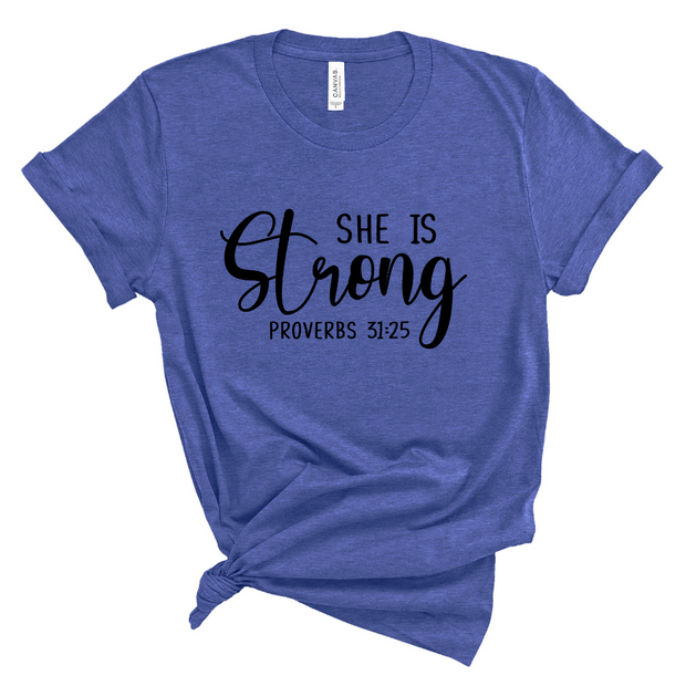 She Is Strong Unisex Shirt