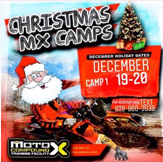 Christmas MX Camp