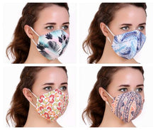 Load image into Gallery viewer, Nature Designer Cloth Masks (Pack of 4)