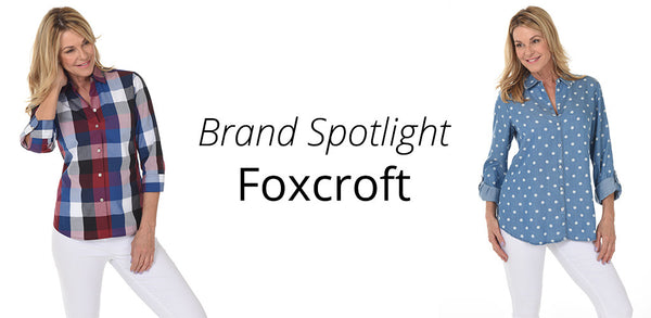 Always Look Put Together in a Foxcroft Blouse