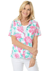 Alfred Dunner Tropical Blouse