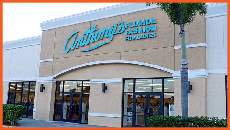 Anthony's Store Front, Bonita Springs, Florida