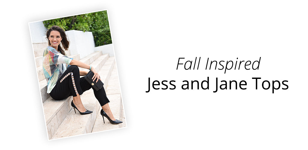 Jess and Jane Tops for Fall