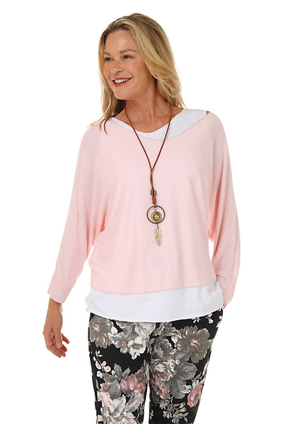 Oli and Sofia Layered Necklace Top