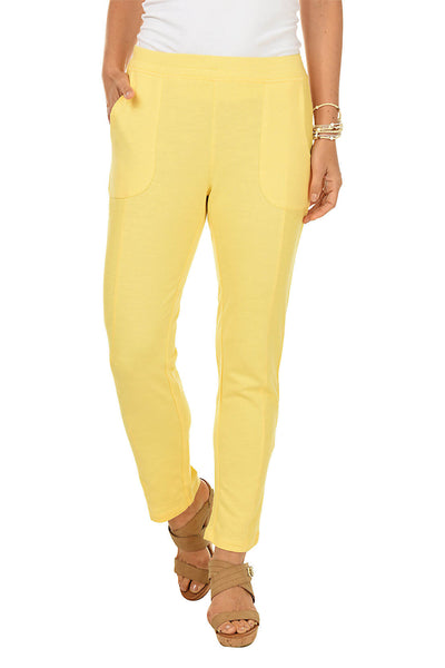 Onque Casuals Hello Sunshine Pull-On Pant