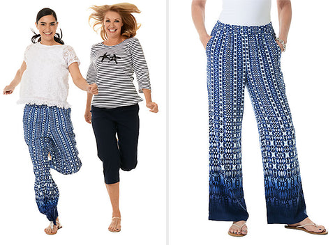 Packing for Cruise - Palazzo Pants