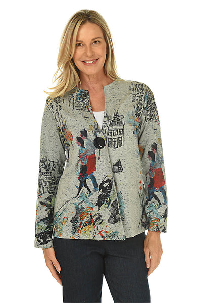 Parsley and Sage Frances Single Button Jacket
