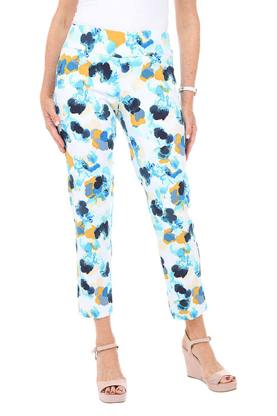 Zac and Rachel Bold Blossoms Pull-On Ankle Pant