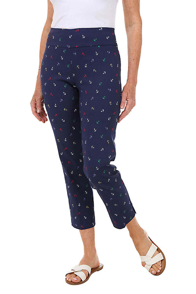 Zac and Rachel Jolly Anchors Pull-On Ankle Pant