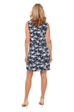 ANTHONY'S RESORT WEAR Palms UPF50+ Sleeveless Dress