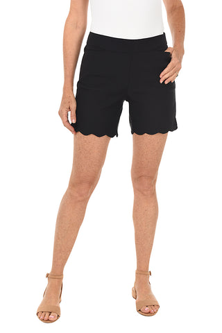 Summer Garden Pull-On Bermuda Short