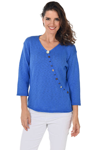 Cherish Mineral Wash Knit Top