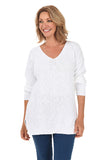 AVALIN V-Neck Tunic Sweater