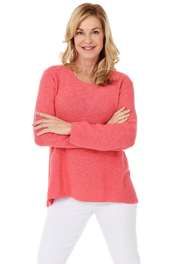 Avalin Classic Pullover Sweater 8671 - Coral
