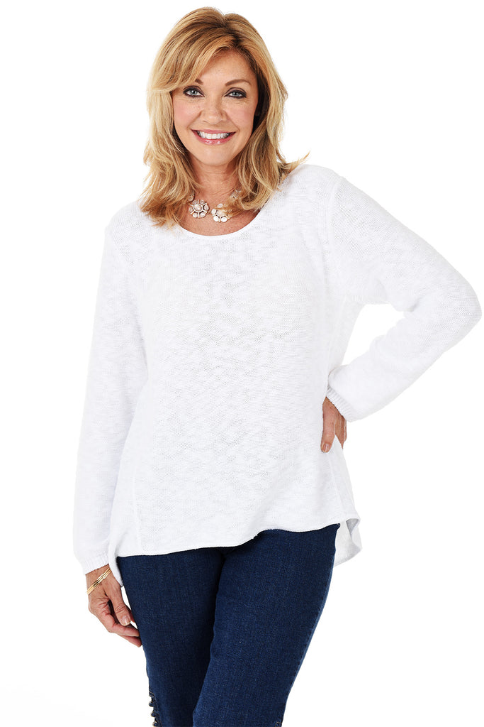 Avalin Classic Pullover Sweater 8671 - White