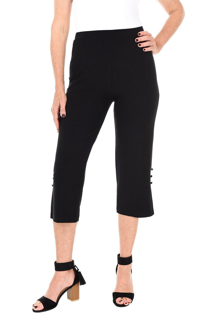 Pull-On Casual Crop Pant