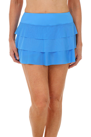 South Seas Twist Tank Skirted Swimsuit