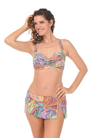Key Largo Blouson Tankini Top