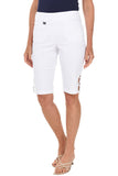 BREEZES Criss Cross Lattice Bermuda Short