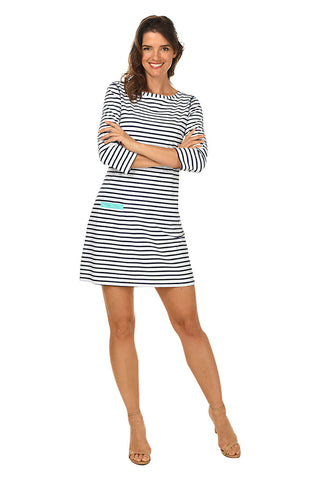Solid Ruched Dress