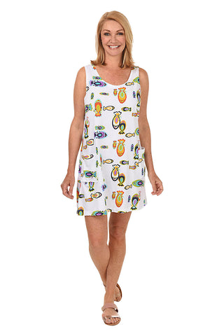 Tropical Punch Tank Dress