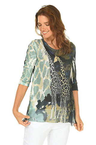 Robyn High-Low Swing Tunic