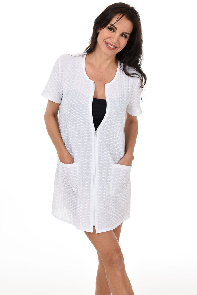 Full Zip Cover-Up