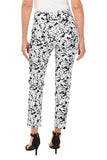 KRAZY LARRY Monotone Splatter Pull-On Ankle Pant