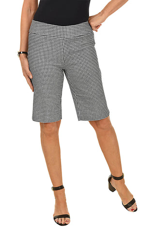 Button-Front Bermuda Short