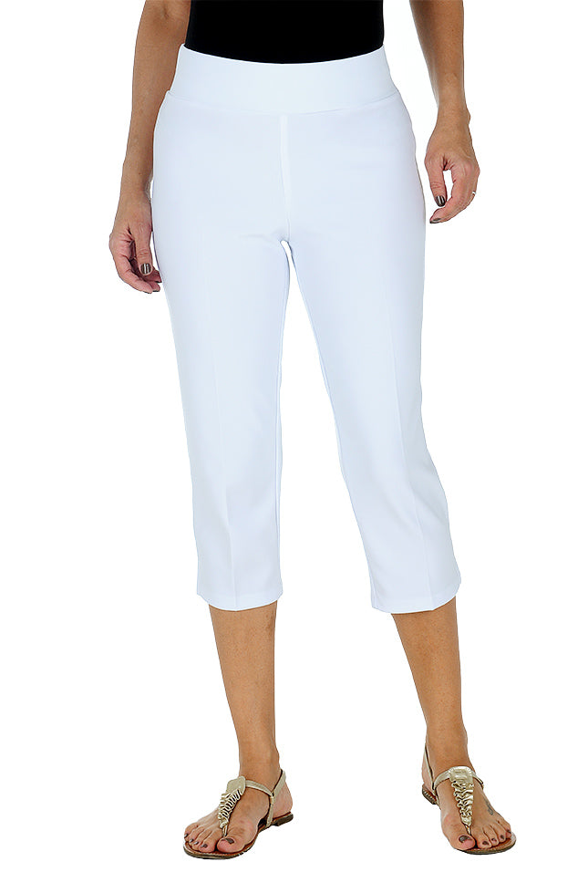 Bali Relaxed Lounge Pant 5597 Front White