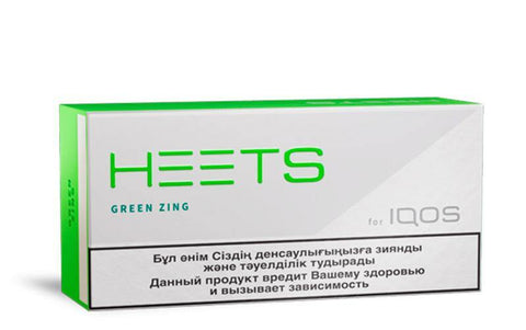 IQOS Heets Green Zing </br> (1 Block = 10 Packs) - IQHEE