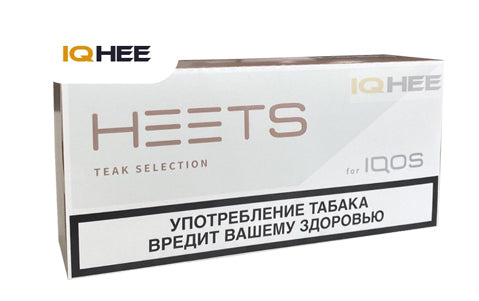 NEW IQOS Heets Teak Selection Parliament