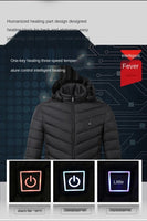 Lightweight Heated Puffer Jacket