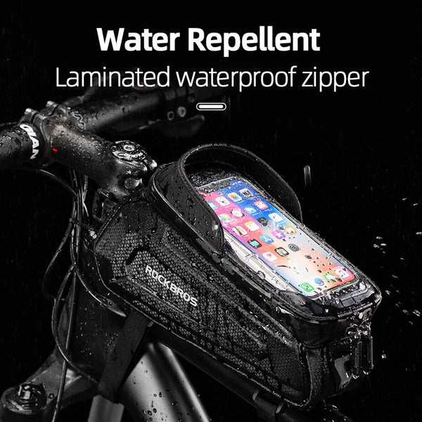 ROCKBROS Touch Screen Bicycle Waterproof Bag