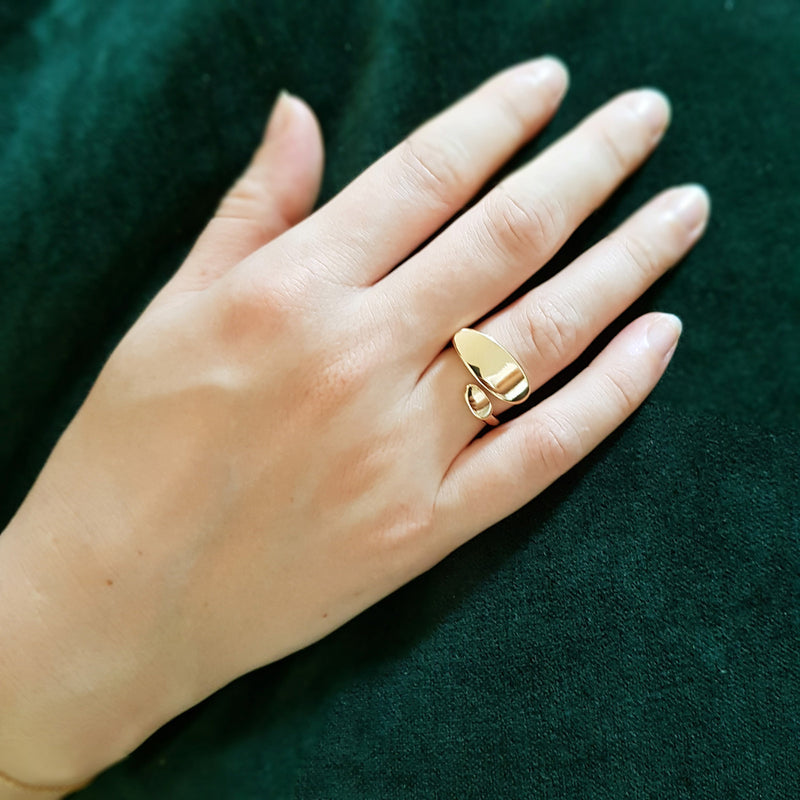 Roopa ring  (18k verguld)